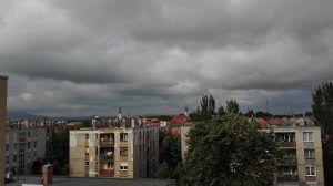 Felhős idő Esztergomban