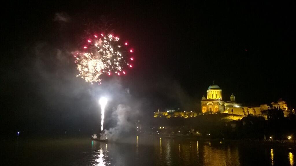 2016. augusztus 19., Esztergom - tűzijáték