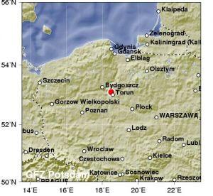Lengyelországi földrengés