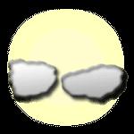 gyengén felhős