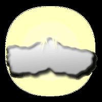 Közepesen felhős égbolt