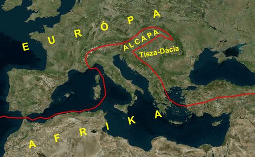 Magyarországon találkozik két eltérő kőzetlemez