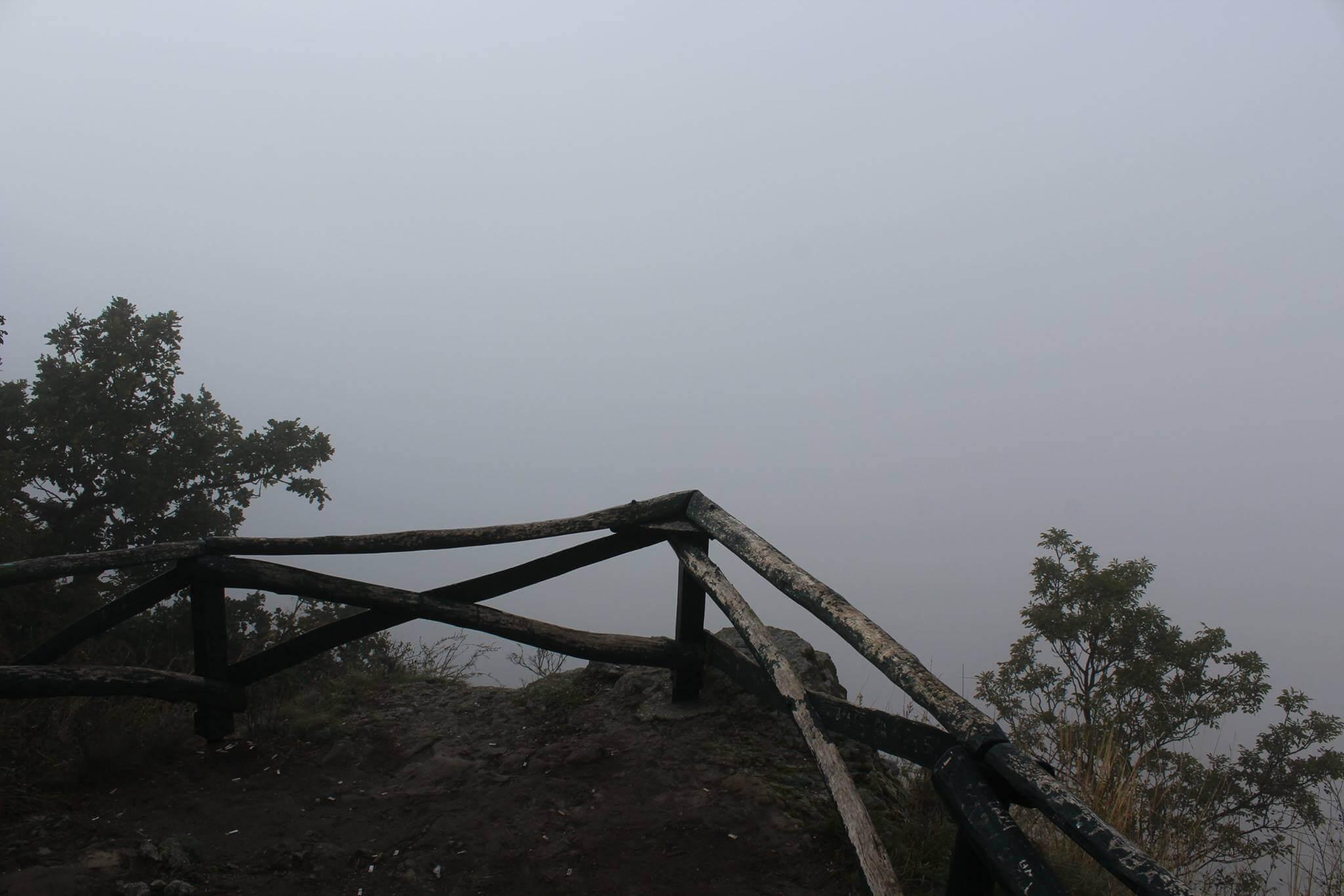 Köd a Vaskapuról nézve