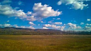 Változóan felhős égbolt Dorog határában