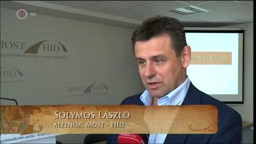 Solymos László (forrás: Nemzeti Audiovizuális Archívum)