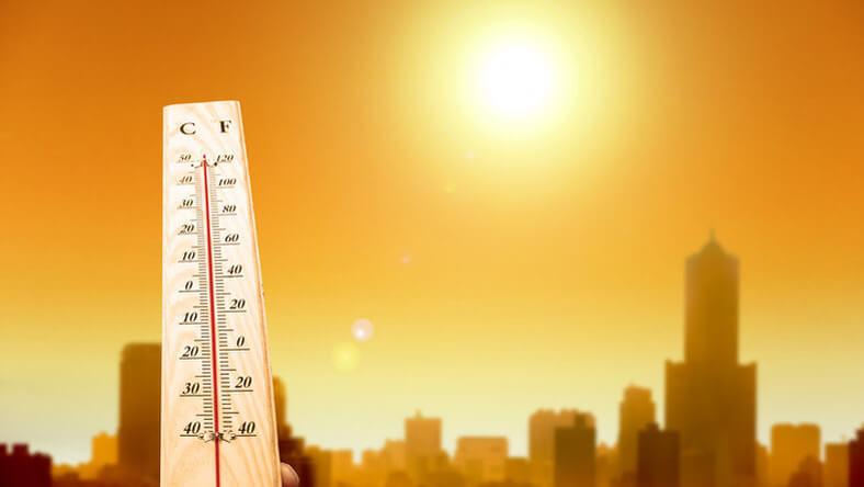 Tikkasztó hőség, kánikula
