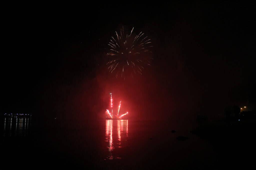 Rendkívül látványos tűzijátékban volt részünk Esztergomban