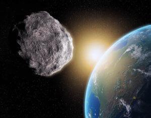 Föld mellett elhaladó aszteroida