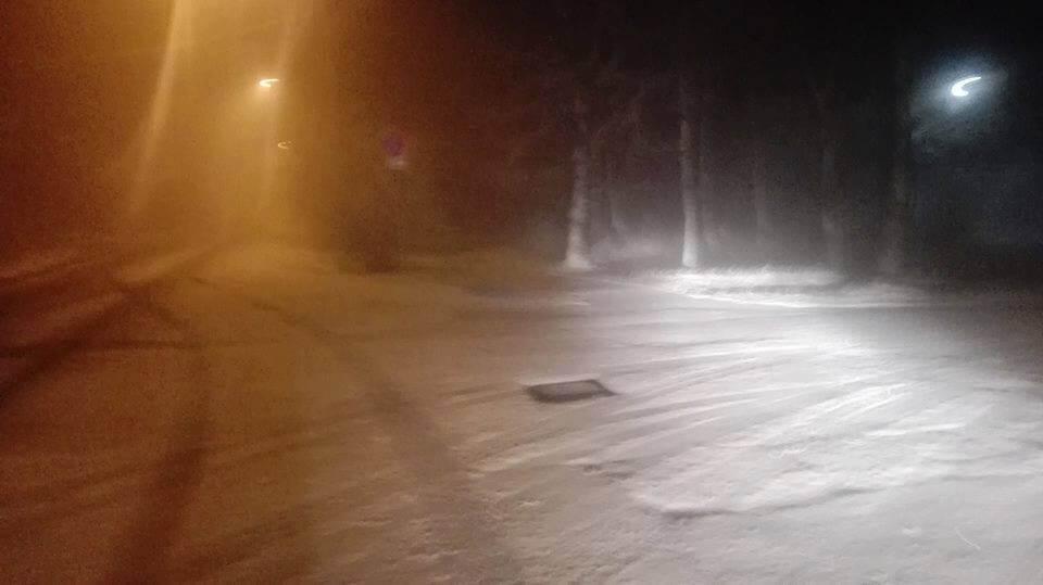 A 2017/18-as téli szezon első havazása Dobogókőn