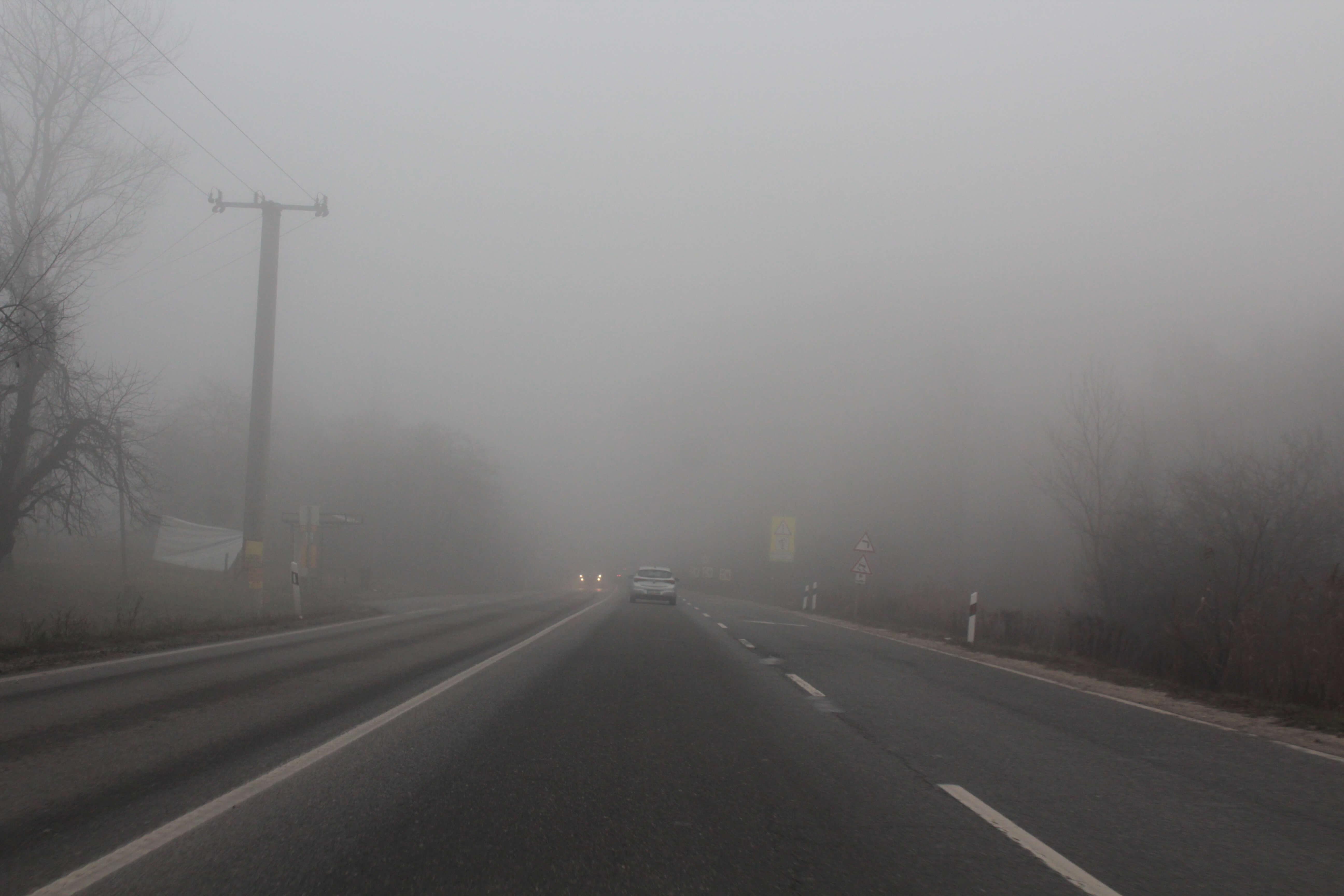 Ötször volt köd novemberben