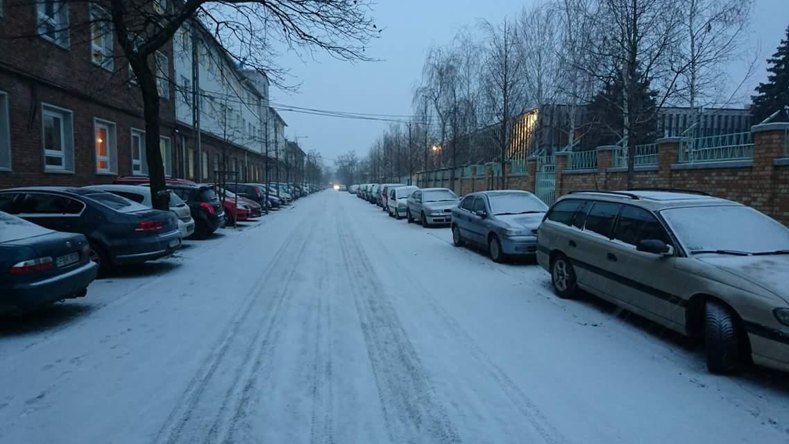 Budapesten reggel óta havazik