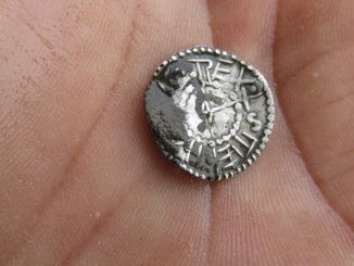 Szent István kori pénzérme (Kép: eduvizig.hu)