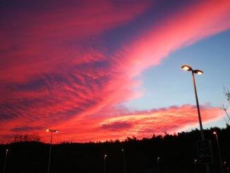 Gyönyörű naplemente (Kép: Bablina Ibolya)