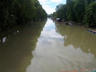 A Kis-Duna Esztergomban 2019. május 24-én