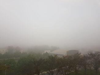 Reggeli köd Dorogon (Kép: Ószer Edina)